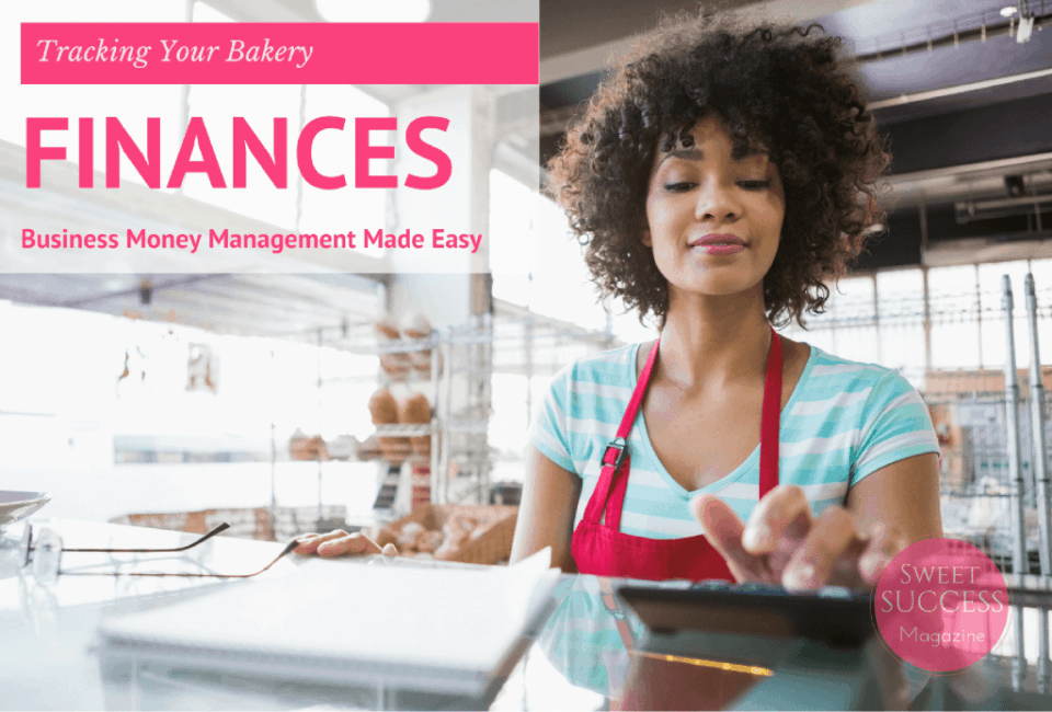 Ethnic woman managing bakery cash register