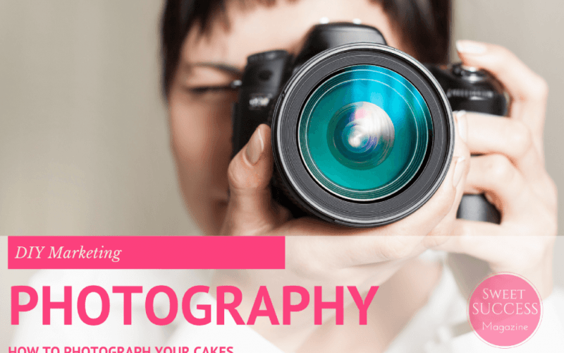 How to Photograph Your Cakes Like a Pro